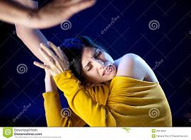 Жена снится битая